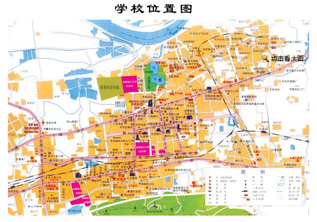 安徽理工大学地图